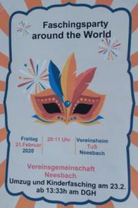 Neesbach reist am 21. + 23.02. um die Welt
