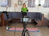 Bodyfitness und Gymnastik Online beim TuS Neesbach mit Chiara Hankammer